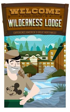 Welcome from Disney's Wilderness Lodge! #WaltDisneyWorld #hotel #vacation #DisneyWorld
