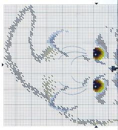 Gallery.ru / Фото #18 - Схемы к моим отшитим работам - COBECTb black cat chart 1