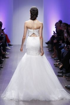 Wedding gown by Jim Hjelm