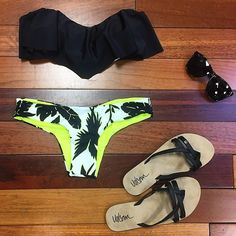 Fresh summer styles from @sidearms #Volcom #Bikini #RipCurl #Electirc #sunnies