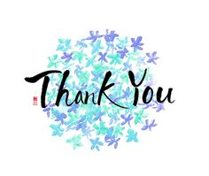 calligraphy_ thank you