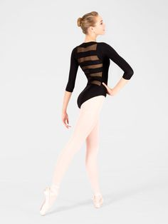 Free Shipping - Adult Striped Back Leotard by NATALIE