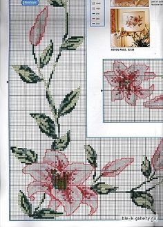 Angela Embroidery: many of the charts this week copied orkut Sandra Pazetto, she does beautiful work! Beaded Cross Stitch, Cross Stitch Borders, Cross Stitch Charts, Cross Stitch Patterns, Rico Design, Ribbon Work, Filet Crochet, Needlepoint, Colorful Backgrounds