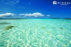 小浜島と竹富島の間で撮影…  透き通った八重山の美しい海が表現された一枚です。  撮影者:竹澤雅文