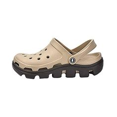 Also easy Men's&Women's Garden Clog Shoes Khaki8 D(M) US - Brought to you by Avarsha.com