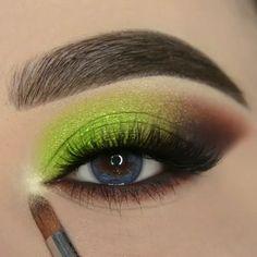 Spring Eye Makeup, Day Eye Makeup, Soft Eye Makeup, Bridal Eye Makeup, Eye Makeup Steps, Colorful Eye Makeup, Dramatic Makeup, Smokey Eye Makeup, Eyebrow Makeup