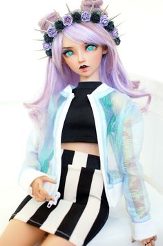 16 Ideas doll eyes anime for 2019 Custom Monster High Dolls, Custom Dolls, Ooak Dolls, Barbie Dolls, Enchanted Doll, Realistic Dolls, Smart Doll, Anime Dolls, Doll Repaint