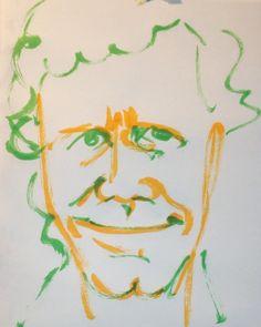 いいね!4件、コメント1件 ― @1mindrawのInstagramアカウント: 「#1mindraw #chickcorea #チックコリア #19410612 #birthday #誕生日 #portrait #筆ペン画」