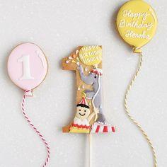 ° ° Happy 1st birthday :-) ° 大好きなあの子のちょっと早めのバースデイフォト様に :-) ° ° #ナンバークッキー