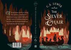 The Silver Chair cover by Jeffrey Nguyen Book Cover Art, Book Cover Design, Book Design, Design Design, Design Poster, Graphic Design, The Silver Chair, Chronicles Of Narnia Books, Identity