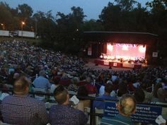 Opera in the Park at Dogwood Dell 8/30/14 with members of the Richmond Symphony performing! Glorious evening! FREE!