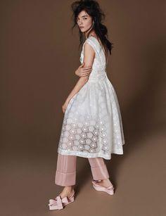 fashion show: daria, mariacarla, maartje, sung hee, herieth, sam, julia and mina by giampaolo sgura for vogue germany february 2016
