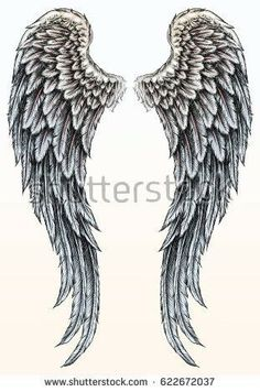 I think this is it except I want one broken wing with blood and one normal win W. - I think this is it except I want one broken wing with blood and one normal win Wing Tattoo - Wing Tattoo Men, Wing Tattoos On Back, Wing Tattoo Designs, Small Wing Tattoos, Angel Wings Tattoo On Back, Angel Wings Drawing, Tattoo Angel Wings, Broken Wings Tattoo, Fallen Angel Tattoo