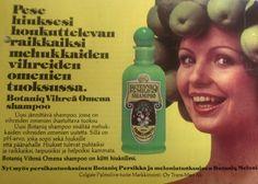 Botaniq shampoo mainos Beauty Shop, Vintage Beauty, Ads, Retro, Retro Illustration, Mid Century