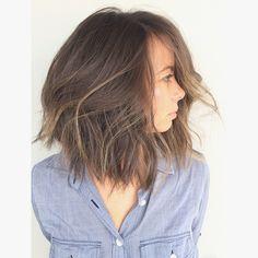 """Erik j. Hagen on Instagram: """"Salon KC. Cut on @annamasbury #hairbyerikjohn #hair #happydays"""""""