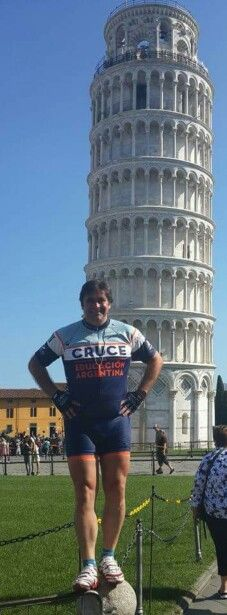 Pisa, Italia.  3100kms cruce 2014