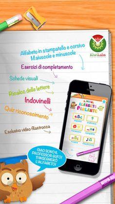 Il Nuovo Alfabeto Parlante - impara e conosci le lettere! di Kiwi Labs s.r.l.