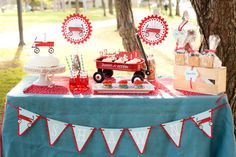 red wagon party