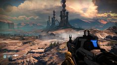 Landscape Screenshot - Destiny #DestinyTheGame VistaLore daily pics of beauty & imagination GameScapes screenshots gaming games Images pictures Fantasy Concept digital art Sci-fi Science Fiction