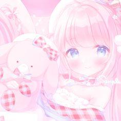 Manga Kawaii, Kawaii Anime Girl, Iphone Wallpaper Kawaii, Hd Cute Wallpapers, Anime Girl Pink, Overlays Instagram, Animated Icons, Anime Best Friends, Cute Profile Pictures