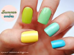 ombre summer nails - Google Search