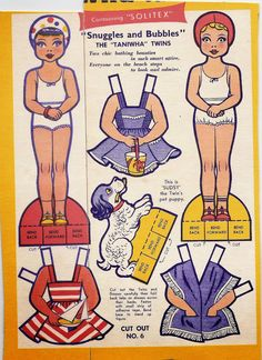 Taniwha Twins (1940s) Arielle Gabriel writes about miracles and travel in The Goddess of Mercy & The Dept of Miracles also free paper dolls at The China Adventures of Arielle Gabriel * free paper dolls Arielle Gabriel's The International Paper Doll Society *