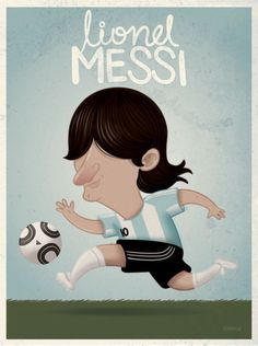 'Lionel Messi' by raeioul on artflakes.com as poster or art print $16.63