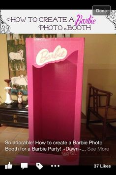 Barbie box - foto sesión