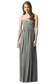 Dessy 2846 Bridesmaid Dress | Weddington Way $258 bridesmaids, bride maids, bridesmaid dresses, grey dresses