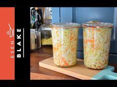 Hızlı Lahana Turşusu - Esen Blake - Yemek Tarifleri - YouTube
