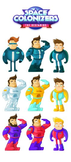 Character Design (2012-2013) by Juan Casini, via Behance