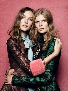 Alexandra Elizabeth, Josephine Le Tortour by Liz Collins for Vogue Turkey September 2015