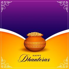 Happy Dhanteras Wishes, Shubh Dhanteras, Happy Ganesh Chaturthi, Smoke Background, Diwali Festival, Happy Diwali, Sale Banner, Purple Backgrounds, Banner Design