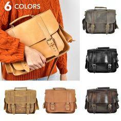 Premium M leather satchel Messenger bag Shoulder bag iPad Briefcase Women, Leather Briefcase, Leather Satchel, Leather Backpack For Men, Louis Vuitton Speedy 30, Men's Backpack, Vintage Louis Vuitton, Vintage Leather, School Bags