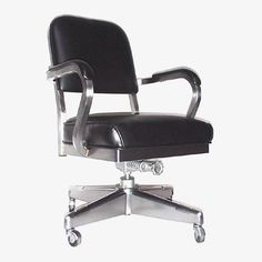 """Steno Chair Vinyl  I remember trying to explain to people why I didn't want to give mine up. The one thing they actually did uderstand is that """"it goes with the desk""""."""