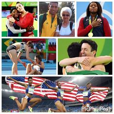 In honor of the #closingceremony sharing a few of my favorite moments from the #olympics It's been a great celebration of #sport and #athleticism Well done ❤️ #rio #rio2016 #brazil #simonebiles #alyraisman #simonemanuel #wadevanniekerk #diegohypolito #arthurnory #nikkihamblin #abbeydagostino #briannarollins #niaali #kristicastlin