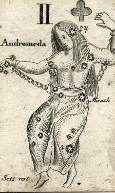 Astronomical card - 1676