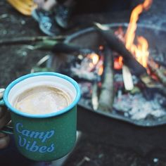 Good morning! We have three styles of camp mugs available at polerstuff.com to ensure you start your day off right. Photo by @janners21! #polerstuff #campvibes @polerportland
