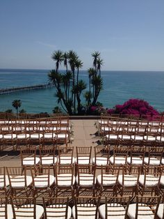 picture perfect backdrop for this May wedding at Casa Romantica!