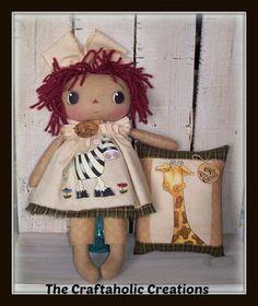 Las creaciones Craftaholic: Órdenes de muñecas Personalizadas Hechas previamente