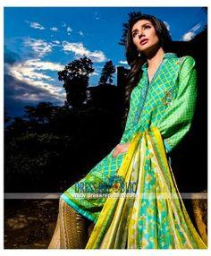 Umar Sayeed Lawn Collection 2015 Shalwar Kameez