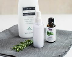 DIY Detangling Spray with Rosemary | Henry Happened