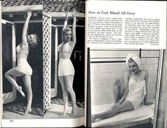 "Marilyn Monroe: ""How I stay in Shape"" 