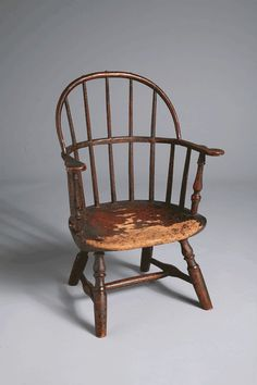 Dear child's Windsor chair