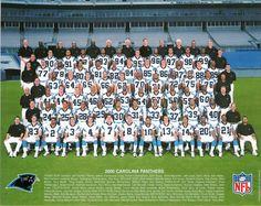 Year 2000 Carolina Panther football team!