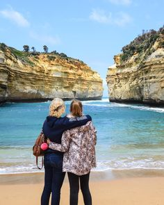 Missing these 2 wonderful human beings while we're all exploring different parts of the world! I am so happy to have met them! @kaaaty___m and Tanja thank you for being so awesome! #awesome #greatoceanroad #melbourne #australia #sisters #explore #adventure by im_just_c