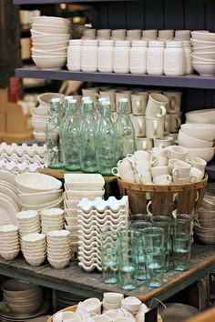 """Fishs Eddy is a great kitchen/dishware store down around the Flatiron neighborhood. I know, kitchenware sounds kind of boring….but Fishs Eddy is anything but. Their motto is """"we do dishes,"""" and they certainly do-but not in any ordinary way. The items available are eclectic, unique, and absolutely charming. Everything, from ..."""