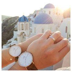 Beautiful watches from Daniel Wellington.