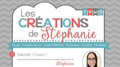 Les Créations de Stéphanie | blog design