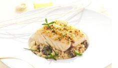 Filet de maigre, risotto aux morilles : la recette facile